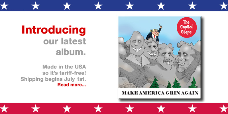 Make America Grin Again - Our new album is shipping soon on CD and for sale on-line at iTunes and Amazon