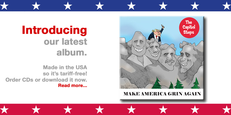 Make America Grin Again - Our new album is shipping now on CD and for sale on-line at iTunes and Amazon