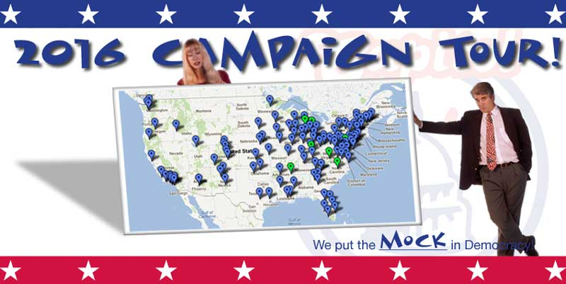 The Capitol Steps:  Campaign Tour 2016!